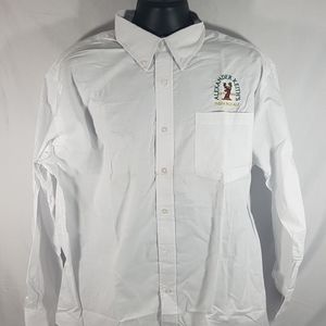 Alexander Keith's White Dress Casual Shirt Size XL